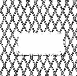 Ultra Cross Netting Patch Repair